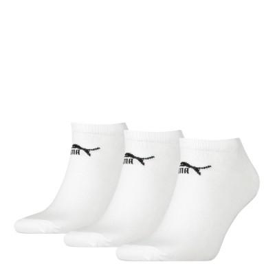 Puma Sneaker 3PR Pack Crew Socks – White