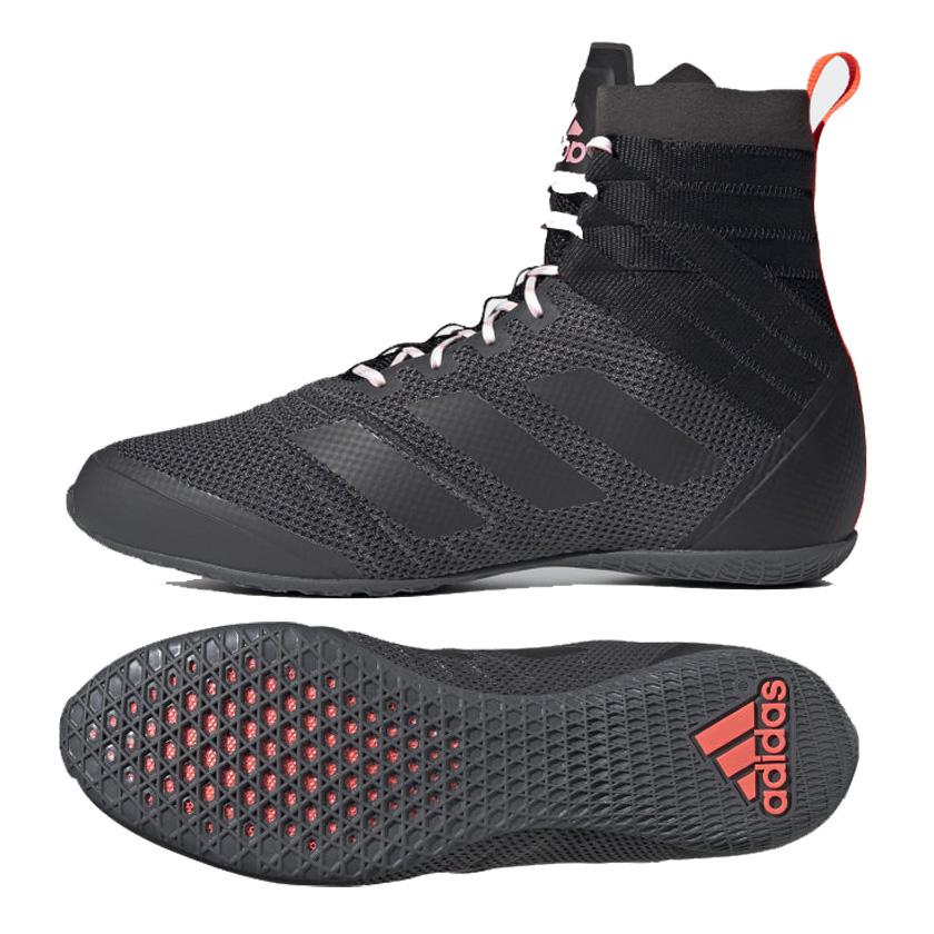 Adidas Speedex 18 Boxing Boot - Black