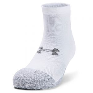 Under Armour HeatGear Lo Cut Socks White (Pack Of 3 Pairs)