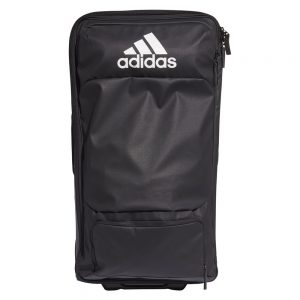 Adidas Team Trolley Roller Bag Black/White – Large