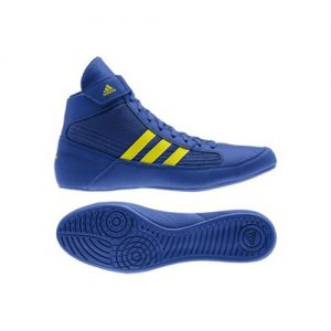 Adidas Havoc Adult Wrestling/Boxing Boot – Blue/Yellow