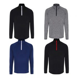 TriDri Long Sleeve Performance ¼ Zip