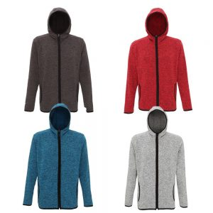 TriDri Melange Knit Fleece Jacket