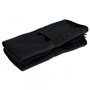 TriDri Microfibre Quick-Dry Fitness Corner Towel – Black