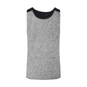 TriDri Performance Contrast Vest – Grey/Black