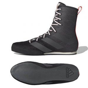 Adidas Box Hog 3 Boxing Boots – Black/Grey