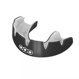 OPRO Power-Fit Braces Solid Colours – Black and White