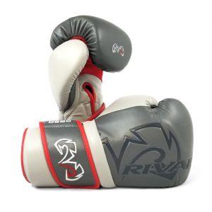 Rival RB80V Impulse Sparring Gloves – Grey/Red/White