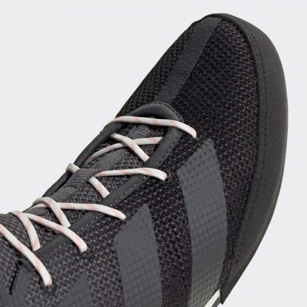 Adidas Box Hog 3 Boxing Boots – Black/Grey