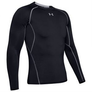 Under Armour Long Sleeve Compression Shirt – Black