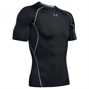 Under Armour Short Sleeve Compression Shirt – Black