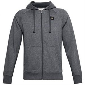 Under Armour Rival Fleece Zip-Up Hoodie – Grey