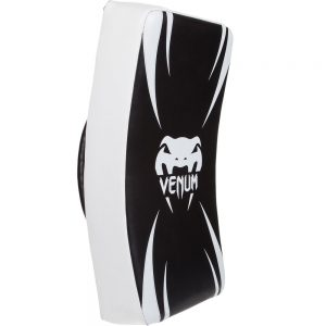 Venum Absolute Long Kick Shield – Black/Ice