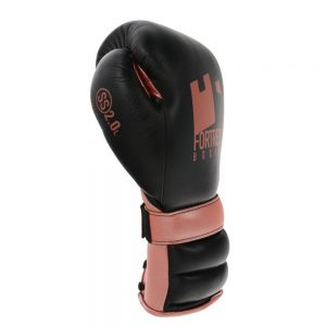 Fortress Boxing SS2.0 Lace Training/Sparring Gloves – Black/Rose Gold