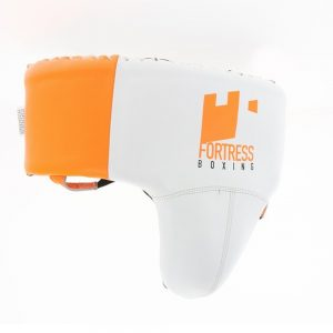 Fortress Boxing Foul Protector – White/Orange