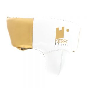 Fortress Boxing Foul Protector – White/Gold
