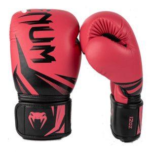 Venum Challenger 3.0 Boxing Glove – Black/Coral