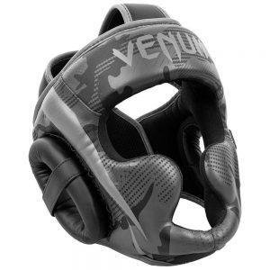 Venum Elite Cheek Head Guard – Black/Dark Camo