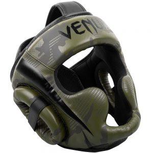 Venum Elite Cheek Head Guard – Khaki/Camo