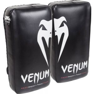 Venum Giant Kick Pads – Black/Ice (PAIR)