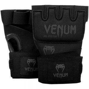 Venum Kontact Gel Wrap Gloves – Black/Black