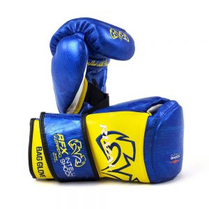 Rival RFX-Guerrero Intelli-Shock Bag Gloves – P4P Edition Blue/Yellow