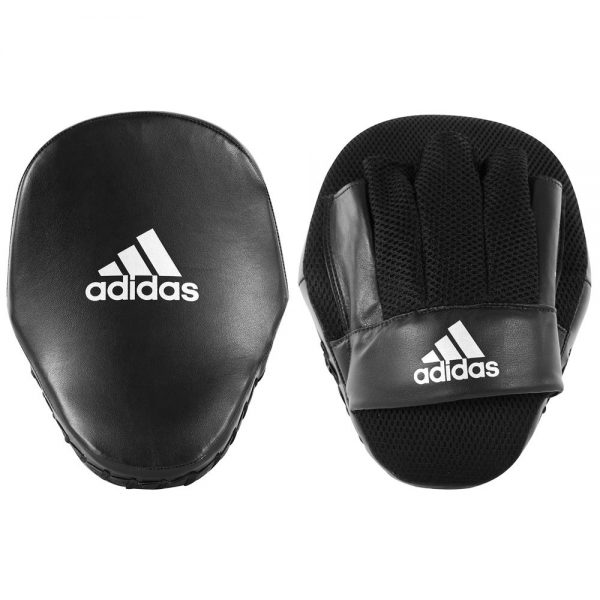 Adidas Speed Mesh Focus Mitts – Black/White