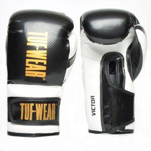 Tuf Wear Victor Training Glove – Black/White/Gold