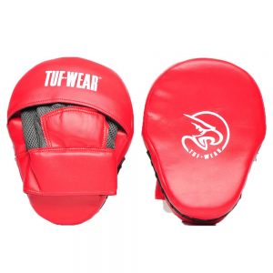Tuf Wear Starter Curved Focus Pads – Red
