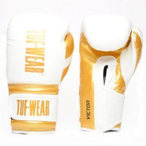 Tuf Wear Victor Training Glove – White/Gold