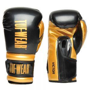 Tuf Wear Victor Training Glove – Black/Gold