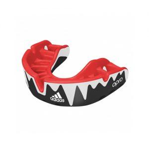 Adidas OPRO Platinum Gumshield – Black/White/Red