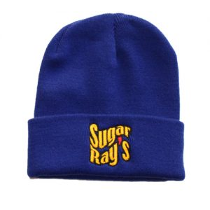 Sugar Ray's Fold Over Boxing Wooly Hat/Beanie – Royal Blue