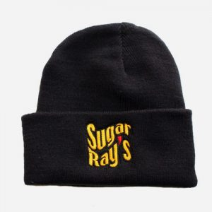 Sugar Ray's Fold Over Boxing Wooly Hat/Beanie – Navy
