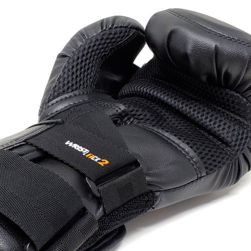 Rival RB10 Intelli-Shock Bag Gloves – Black/Black