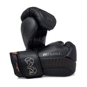 Rival RB10 Intelli-Shock Bag Gloves – Black/Black