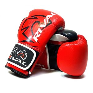 Rival RB7 Fitness and Bag Glove – Red/Black