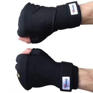 Winning N KVL-R Easy Handwraps – Black