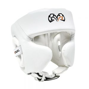 Rival RHG2 Hybrid Cheek Headguard – White