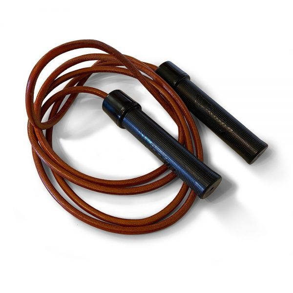 Winning F-16 Leather Skipping Rope 8ft