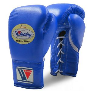 Winning MS Pro Fight Boxing Gloves – Blue