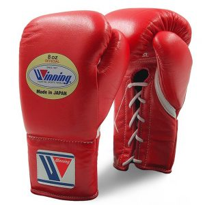 Winning MS Pro Fight Boxing Gloves – Red