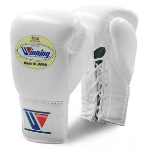 Winning MS Pro Fight Boxing Gloves – White