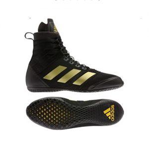Adidas Speedex 18 Boxing Boot – Black/Gold