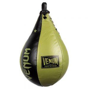Venum Boxing Lab Speed Bag- Green/Black {Medium or Large}