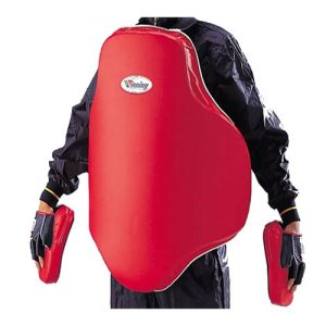 Winning BC-3500 Super Body Protector – Red/Black