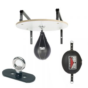 Pro-Box PU Floor To Ceiling & Speedball Set – Black