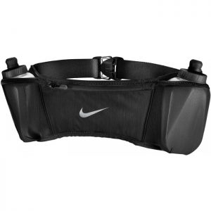 Nike Double Pocket Flash Belt 20oz – Black
