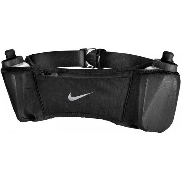 Nike Double Pocket Flash Belt 20oz – Black