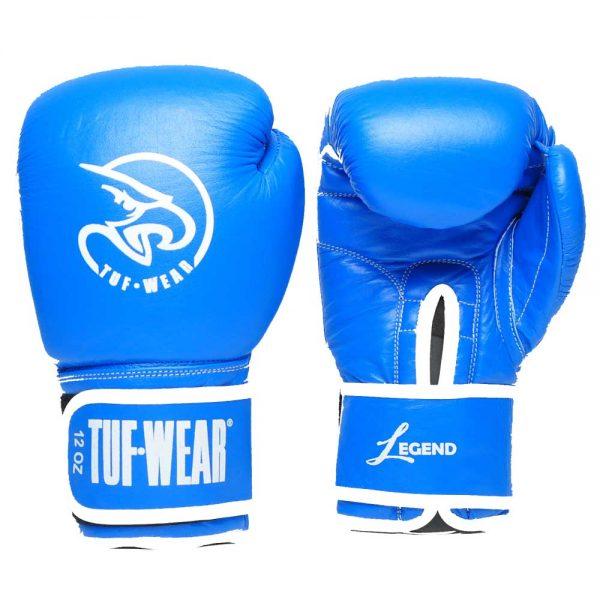Tuf-Wear Legend Leather Sparring Glove – Blue/White